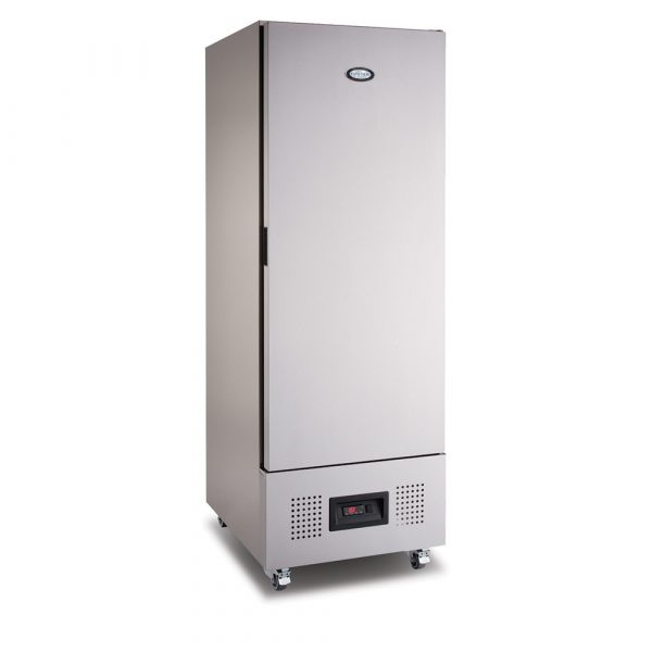 Foster FSL400H Slimline Fridge-Stainless Steel Ext/Aluminum Int-R290