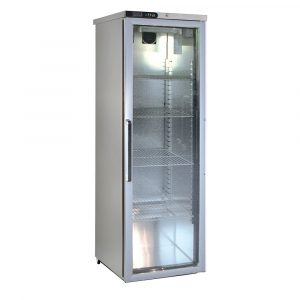 Foster XR415G Glass Door Slimline Refrigerator -Light-R134a