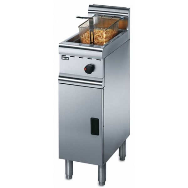 Lincat Silverlink 600 J5 Free Standing Single Tank Fryer with 1 Basket-Natural Gas-0