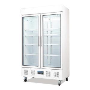 Polar CD984 Double Door Display Fridge