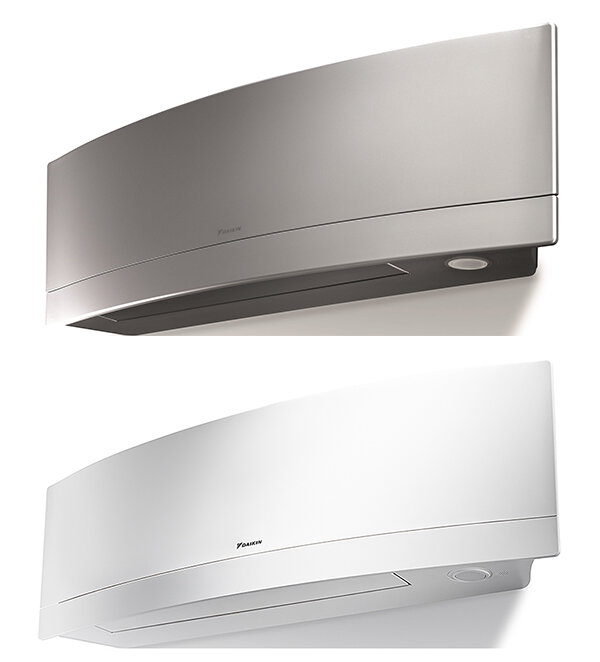 Daikin FTXJ25M Emura Air Conditioning System-Matt Crystal White
