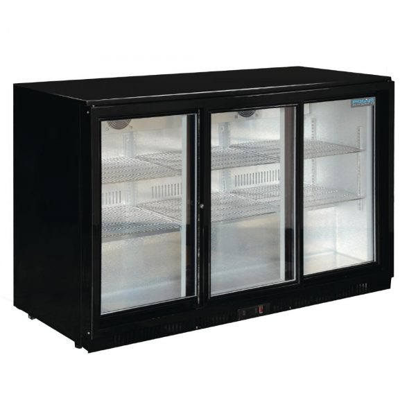 Polar GL006 Triple Sliding Door Bottle Cooler