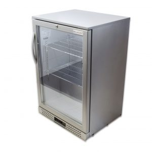 Belmont BC6007G Bottle Cooler Hinged Door Silver