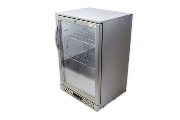 Belmont BC6007G Bottle Cooler Hinged Door-Silver