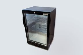 Belmont BC6007K Bottle Cooler Hinged Door-Black