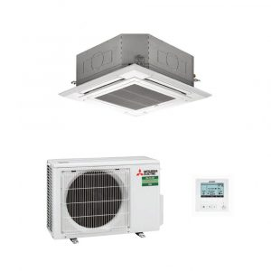 Mitsubishi Electric PLA-M60EA 4-Way Blow Ceiling Cassette Air Conditioning System