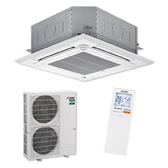 Mitsubishi Electric PLA-M100EA 4-Way Blow Ceiling Cassette Air Conditioning System