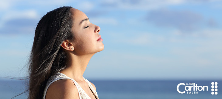 Breathing air