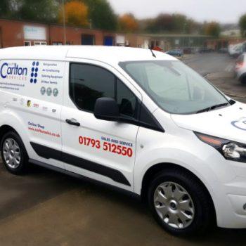 Carlton Services Van