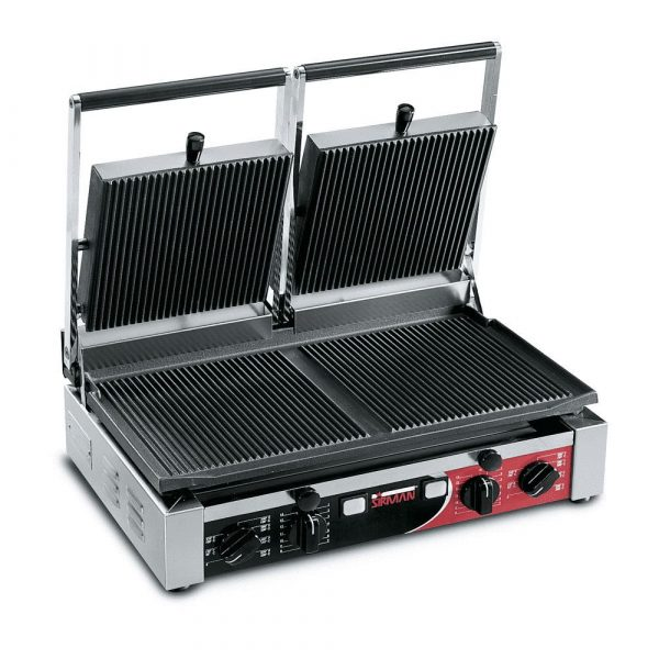 Sirman PD Double Ribbed Contact Grill